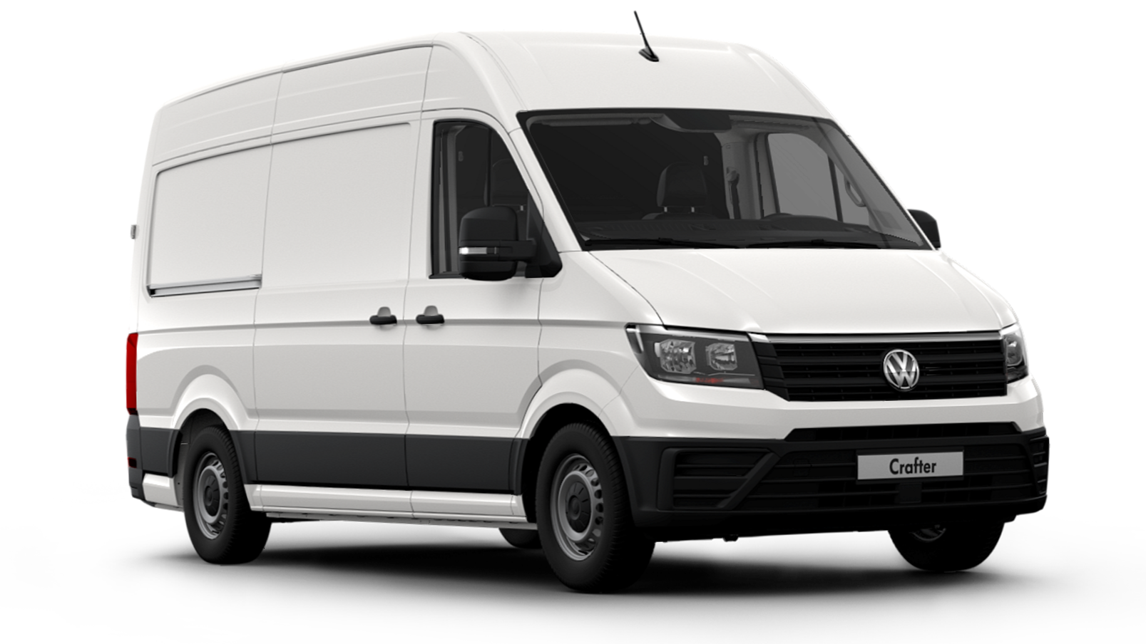 Picture of a VW Crafter Van
